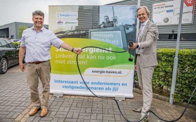Opening slim energienet Apeldoorn Noord